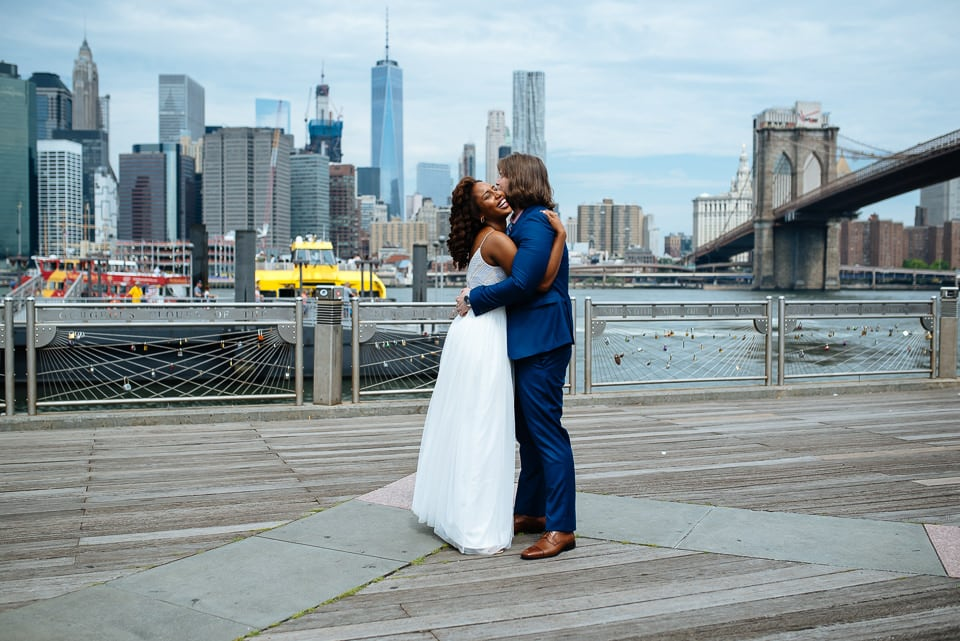 NYC Elopement Photographer City Hall DUMBO 20160715 01