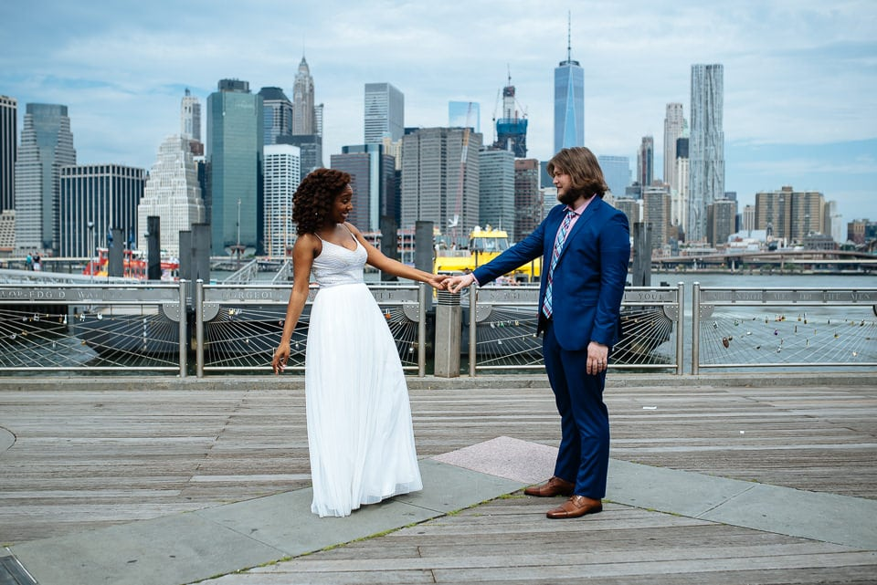 NYC Elopement Photographer City Hall DUMBO 20160715 02