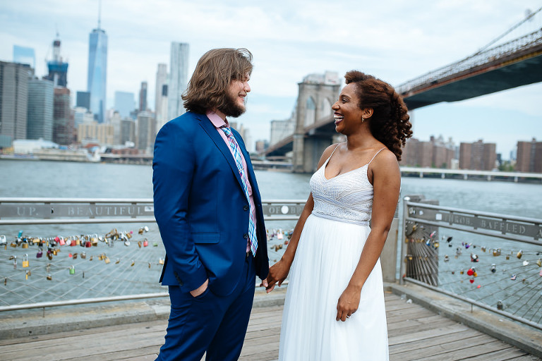 NYC Elopement Photographer City Hall DUMBO 20160715 03
