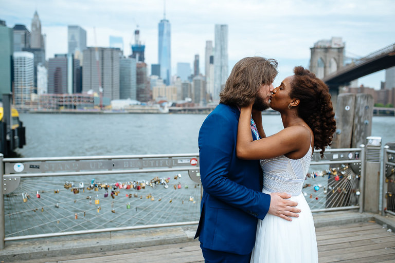 NYC Elopement Photographer City Hall DUMBO 20160715 04