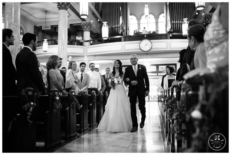 Our Lady of Pompeii Catholic Church New York City Wedding JC Lemon Photography