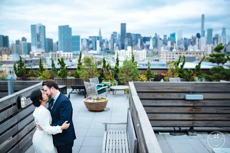 Long Island City New York City Elopement JC Lemon Photography