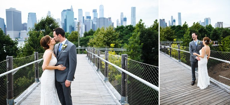 Just after their Brooklyn Bridge Park first look