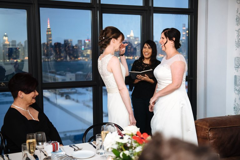 A laid back Wythe Hotel elopement with Once Upon a Vow