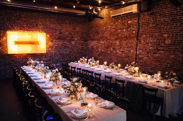 The private carriage house at Frankies 457 in Brooklyn
