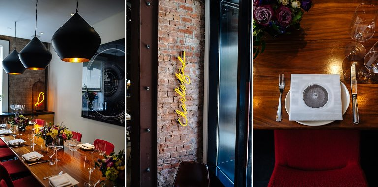 Best elopement restaurants NYC include Charlie Bird in the West Village
