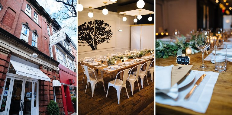 Haven's Kitchen is a great elopement reception restaurant venue near Union Square