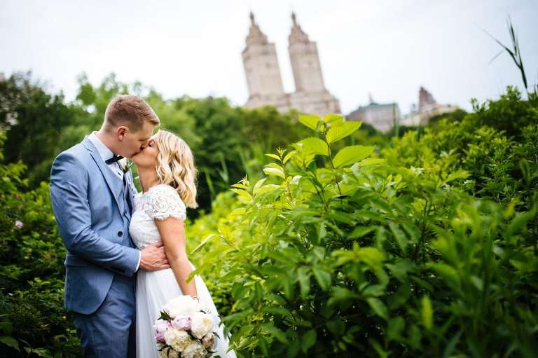 best wedding photo locations in Central Park