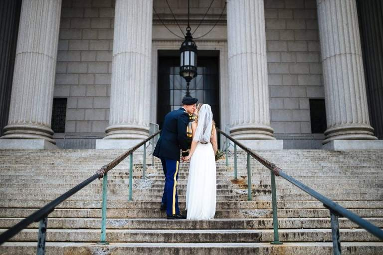 An easy way to elope in NYC is to have a City Hall wedding