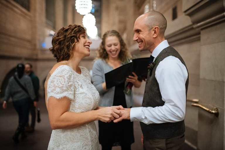 hire an elopement officiant for your New York wedding